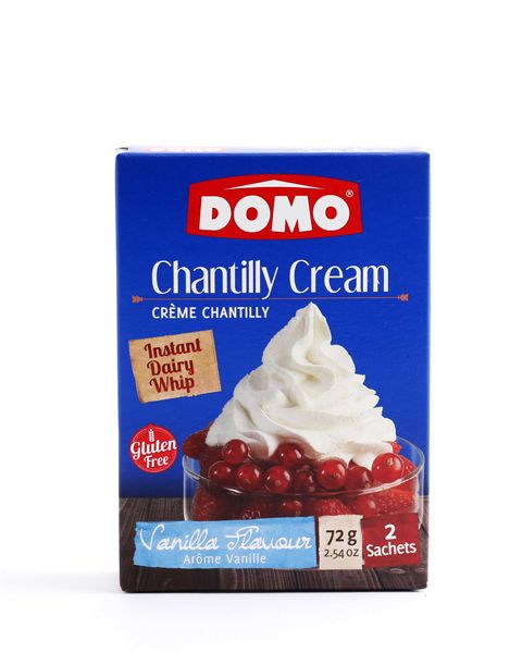 Chantilly Cream Vanilla Domo 72g